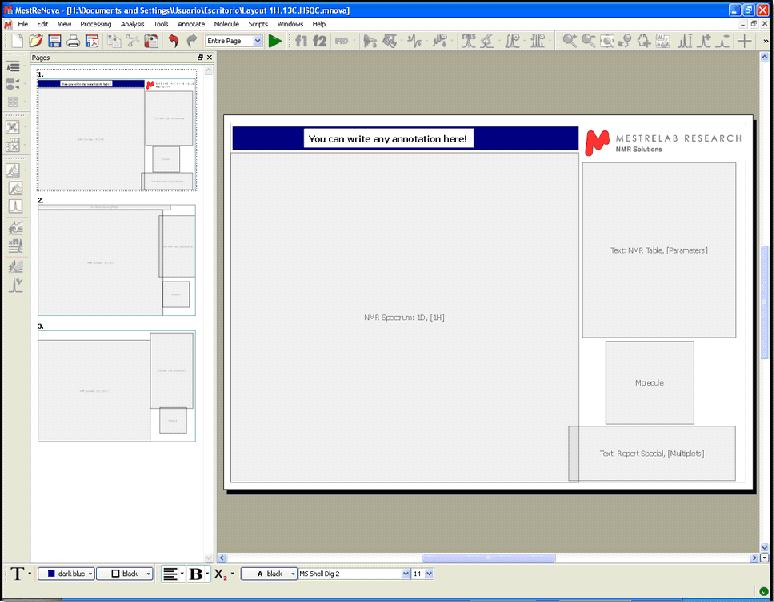 Layout Templates | Mestrelab Research |