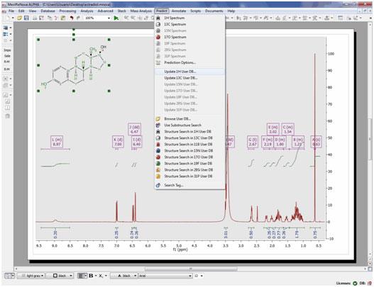 Train NMR Predictions Tutorial 1